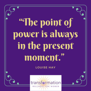 Louise Hay The point of power